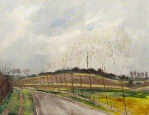 'The Hill of Difficulty', Greensand Ridge, Bedfordshire, Running from How End up to Ampthill