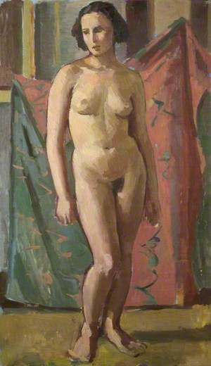 Standing Female Nude*