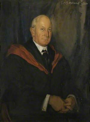 Peverell Smythe Hitchens (d.1930), Physician to Northampton General Hospital (1901–1924)