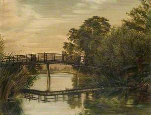 The Black Bridge, Hemingford Abbots, Cambridgeshire