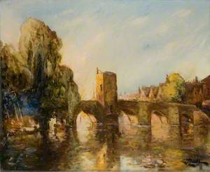 St Ives Bridge and Chapel, Cambridgeshire, As It Appeared before 1930