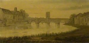 St Ives Bridge, Cambridgeshire, from the West