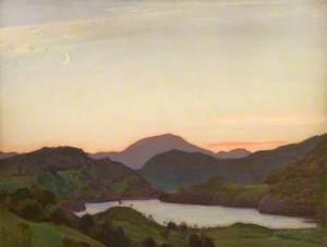Sunset, Llyn Gwynant