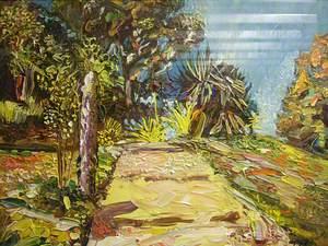 In a Portuguese Garden