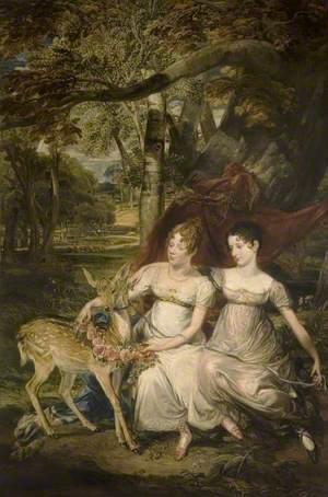 The Ladies Elizabeth and Georgiana Stanhope