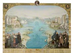 Acorn National Trust Centenary Mural