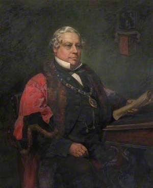 Henry Pearson Gates (1818–1893), First Mayor of Peterborough (1874–1876 & 1887)