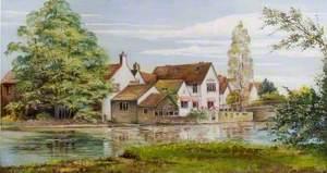 Old St Neots Bridge and Bridge House, Cambridgeshire