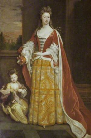 Jemima, Duchess of Kent (d.1728), and Her Daughter Lady Jemima Grey