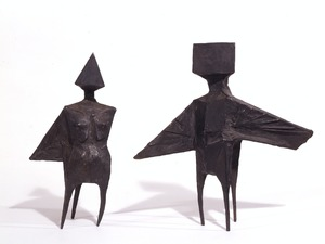 Two Winged Figures – Maquette IX