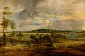 Landscape in Flanders