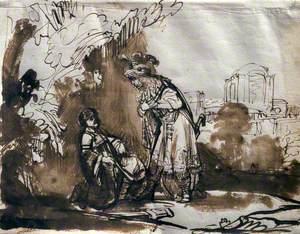 The Parting of David and Jonathan