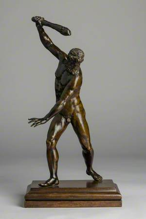 Hercules Wielding His Club
