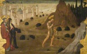 Saint John the Baptist Leaving for the Desert