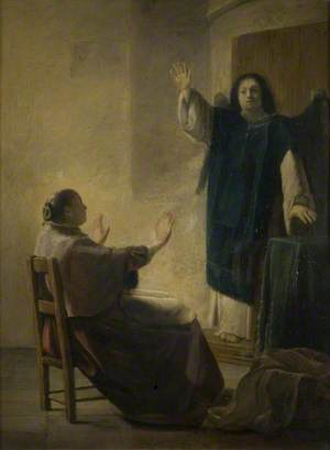 The Angel Appearing to Anna