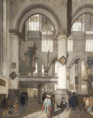 Interior of the Oude Kerk, Amsterdam