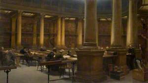 Birmingham Reference Library, the Reading Room