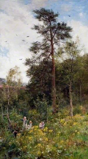 A Nook in Nature's Garden