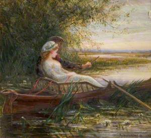 Two Figures in a Boat
