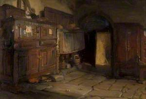 A Breton Cottage Interior