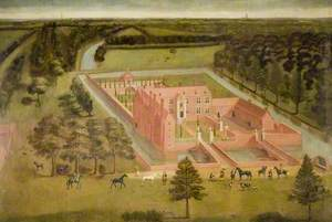 View of Perry Hall, near Birmingham