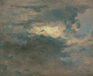 Study of Clouds, Evening, 31 August 1822