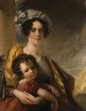 Mrs John Clerk Maxwell (1792–1839), and Her Son, James (1831–1879)