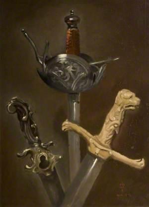 Three Sword Hilts