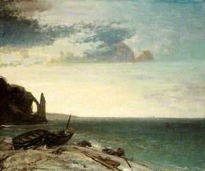 The Sea at Étretat