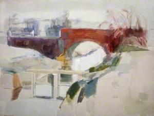 Winter, Hexden Channel