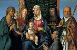 Virgin and Child with Saints and a Donor