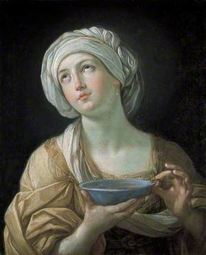 Portrait of a Woman (Lady with a Lapis Lazuli Bowl)