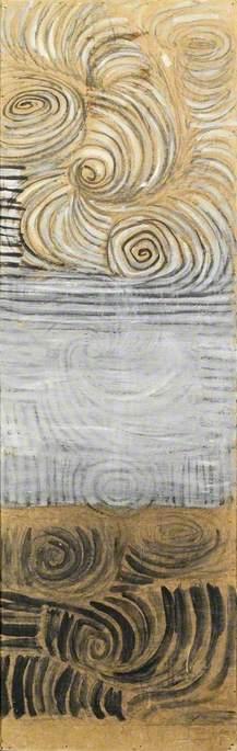 Spiral Motif, Sea and Sky