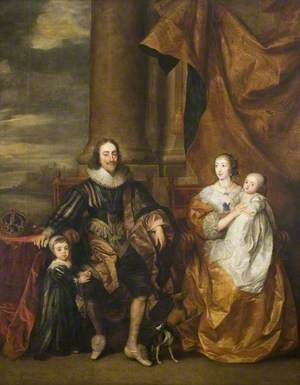 Charles I (1600–1649), and His Family