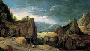Landscape with Minerva Expelling Mars to Protect Peace and Plenty