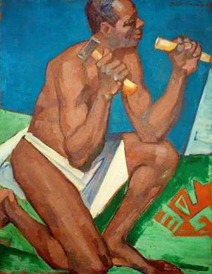 Negro Sculptor