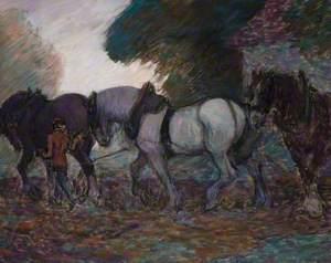 The Ploughing Team, Dawn
