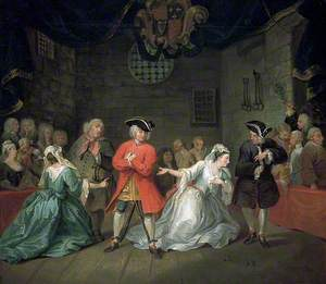Scene from John Gay's 'The Beggar's Opera'