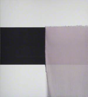 Exposed Painting, Paynes Grey, Yellow Oxide on White