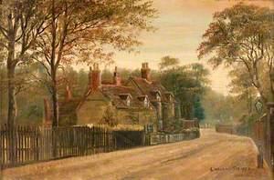 View down Church Lane, Handsworth