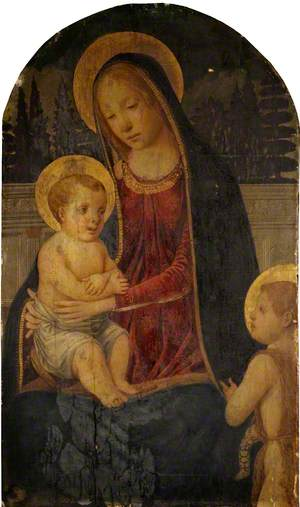 Madonna and Child with Infant