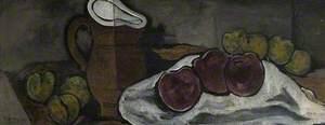 Pichet et fruits