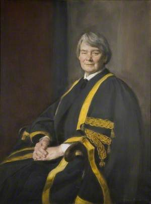 Professor Jean R. F. Wilks (b.1917), Pro-Chancellor (1985–1989)