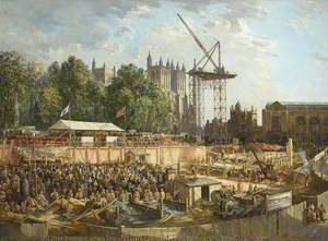 City of Bristol Council House, College Green, 10th June 1938, Foundation Stone Ceremony
