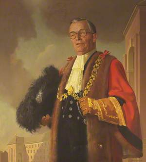 Alderman Harry Crook (1889–1970), JP, Lord Mayor of Bristol (1955–1956), Founder and Chairman of the Kleen-E-Zee Brush Company Ltd