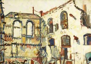 Back of Castle Street, Bristol (War Damage)
