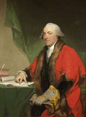 Henry Cruger, of New York, Mayor of Bristol and Master of The Merchant Venturers Society, 1781