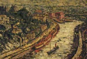 View of Bristol from the Suspension Bridge