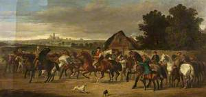 Horses Going to a Fair, Lincoln