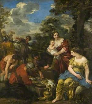 Laban Seeking His Idols